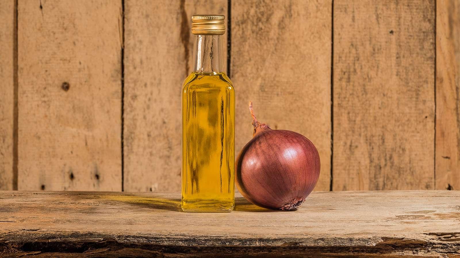 Olio aromatizzato alla cipolla