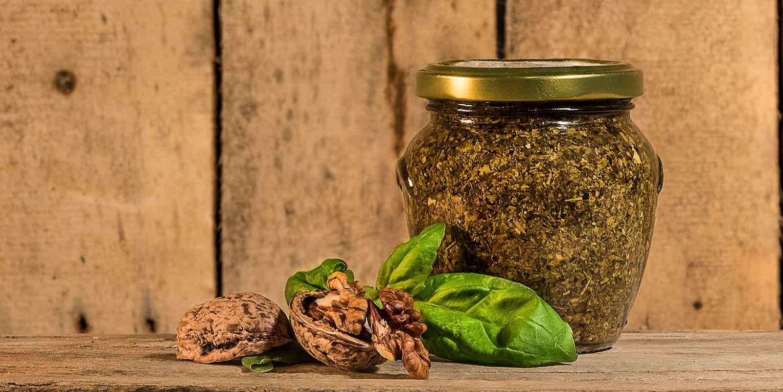 Pesto Basilico e Noci